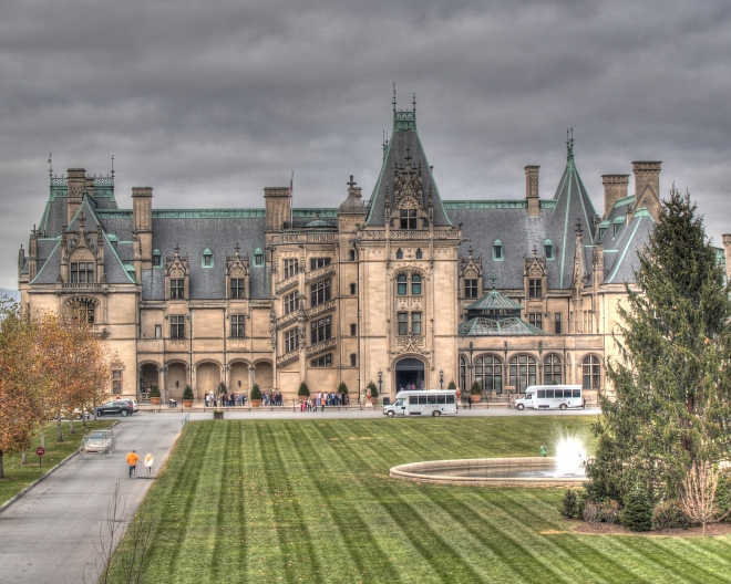 Exterior view of the Biltmore