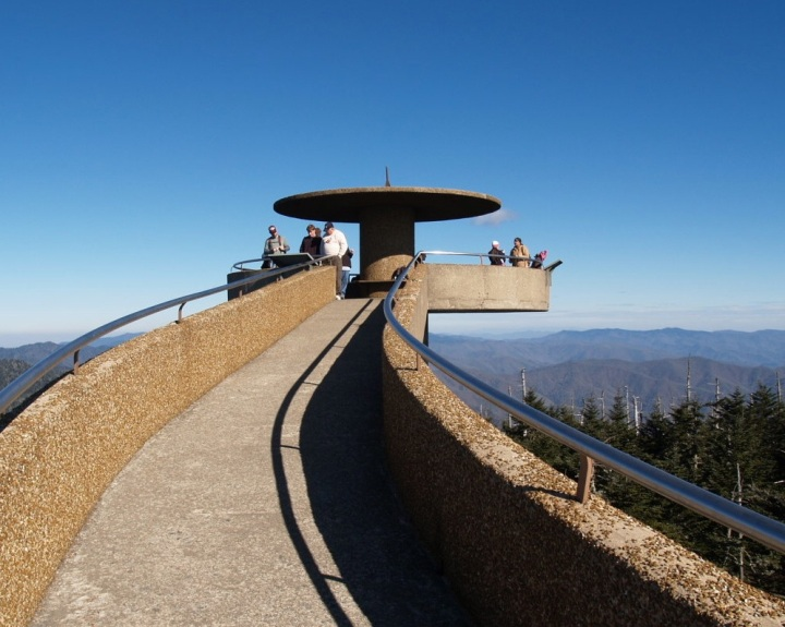 Who is Clingman and why does he have a dome in the middle of the Great Smokies?