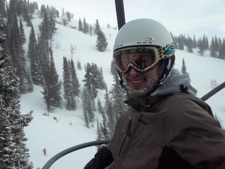 Frozen beard @ JH