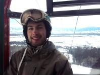 On the gondola @ JH