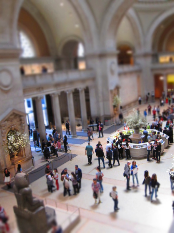 Grand Hall at the Metropolitan Museum of Art - NYC 2012