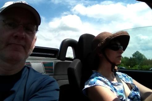 On the 401 near Napanee