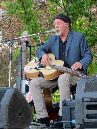Harry Manx @ Sound of Music Festival.  Burlington Ontario