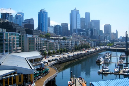 Seattle Cycling Tours - Waterfront