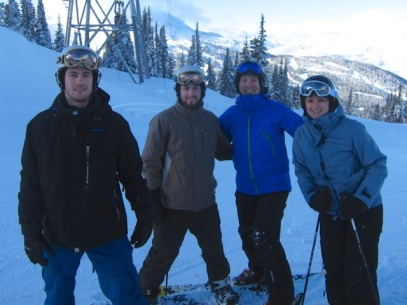ACSM on Blackcomb
