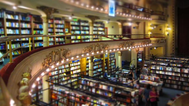 El Ateneo bookstore