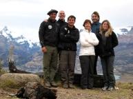 Estancia Cristina - Augustino, Stuart, Santiago, Heidi, Andre y Paula