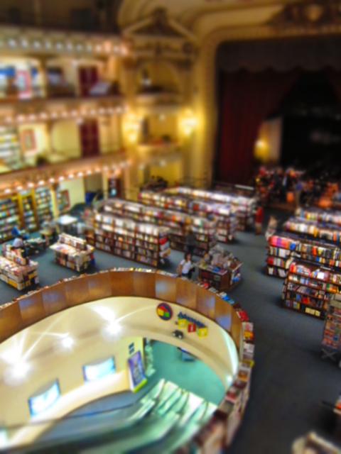 El Ateneo bookstore - Buenos Aires 2014