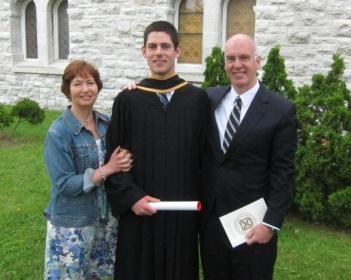 AWB Graduation (Queen's University, Kingston)