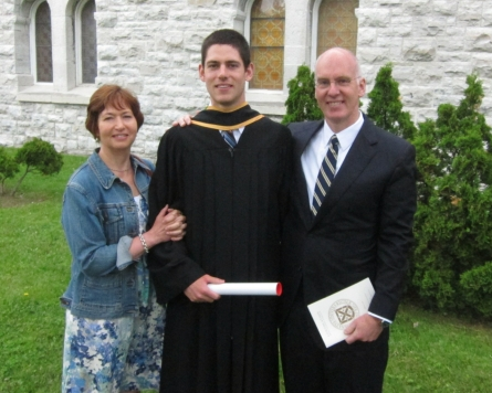 AWB Graduation (Queen's University, Kingston)