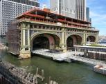 Ferry Terminal construction, Manhattan