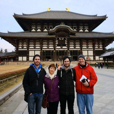 All of us at Tōdai-ji
