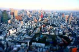 Tokyo sunset from Mori Sky View - 02
