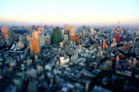 Tokyo sunset from Mori Sky View - 03