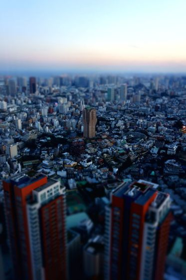 Tokyo sunset from Mori Sky View - 04