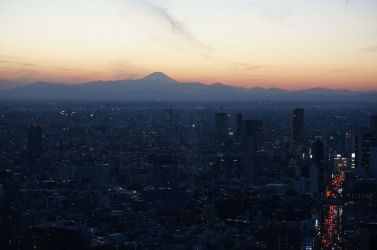 Tokyo sunset from Mori Sky View - 07