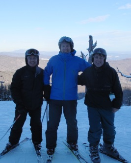 Phil + Stuart + Joff @ Mad River Glen - Vermont