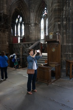 Damn Tourists @ Glasgow Cathedral