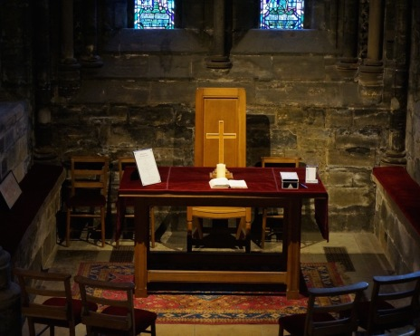 Prayer Space @ Glasgow Cathedral