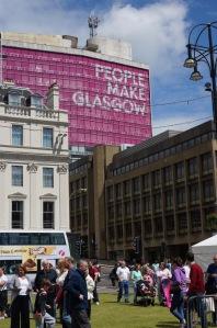 People Make Glasgow @ George Square