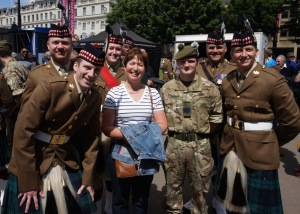 HVW Loves the Military Men @ George Square