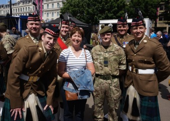 HVW Loves the Military Men @ George Square