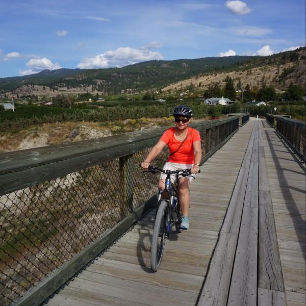 HVW on Kettle Valley Rail Trail