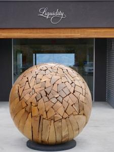 Liquidity Wooden Ball