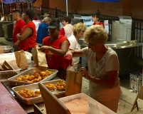 Zeppole Production Line - St. Ann's Feast - Hoboken NJ