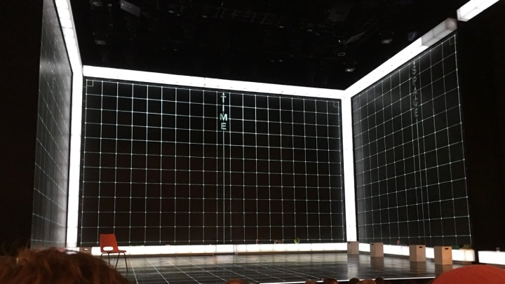 Curious Incident set - Barrymore Theatre NYC
