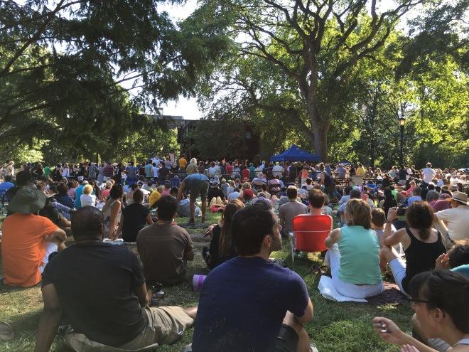 Charlie Parker Jazz Festival at Tompkins Square Park