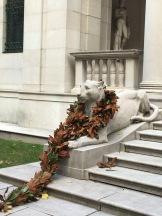 A big kitty-cat at the Morgan Library