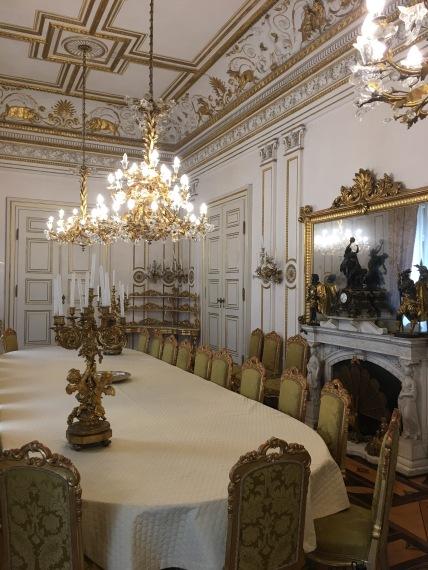 Baron Pasquale Revoletta's dining room - No thanks
