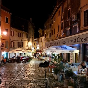 Rovinj - Later in the evening