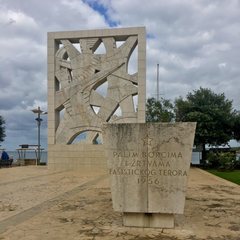 Commuinist era monument @Rovinj