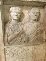 Statue @Pula Temple of Augustus