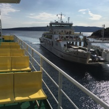 Ferry to Rab