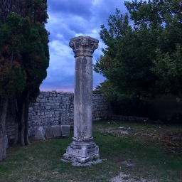 Column at Rab