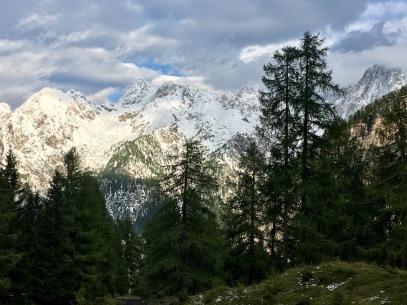 The Julian Alps: near Vršič Pass