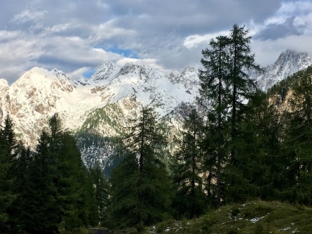 The Julian Alps: near Vršič Pass
