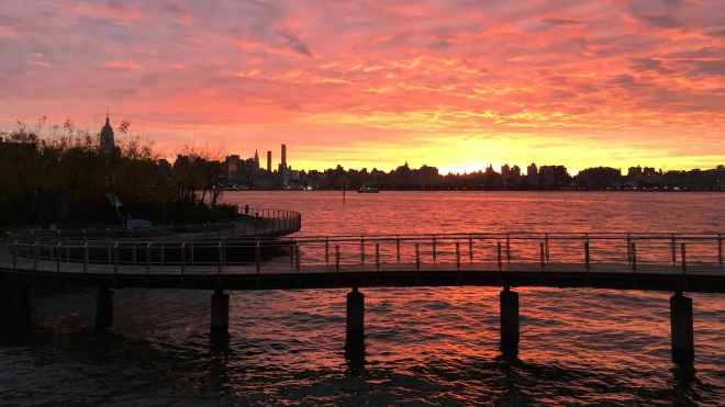 Hoboken daybreak