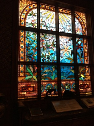 Stained glass @ Ballantine House - Newark Museum