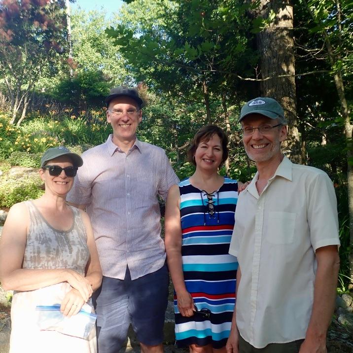 On Lake Joseph, with MW, SMB, HVW and GW
