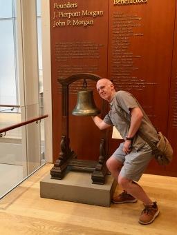 SMB rings JP Morgan's bell @JPMorgan Library