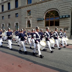 Time to change the guards @ Royal Palace of Stockholm