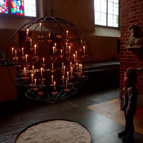 A glowing orb @Storkyrkan