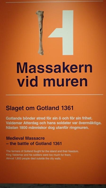 They promised us a massacre @Historiska Museet