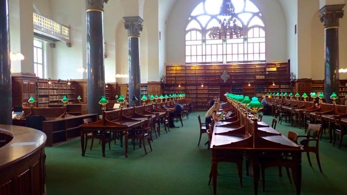 Reading room @Københavns Biblioteker