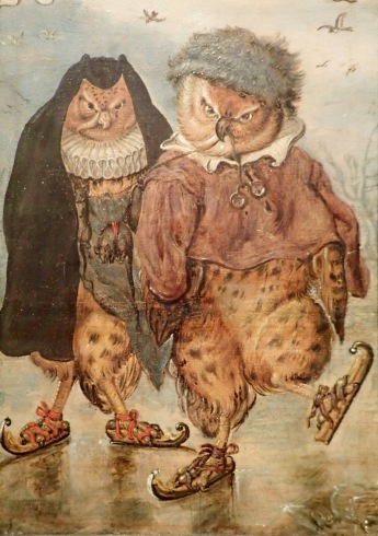 Owls on skates @Statens Museum for Kunst