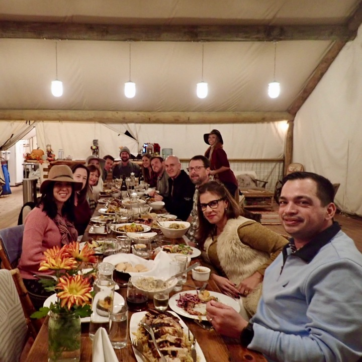 Thanksgiving dinner @Colletive Hill Country
